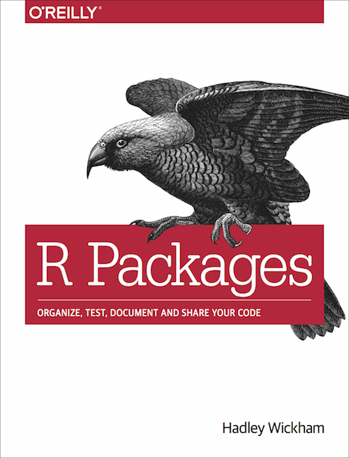 The R Packages book cover
